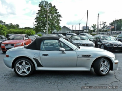 2001 BMW M Roadster in Titanium Silver Metallic over Black Nappa