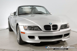 2001 BMW M Roadster in Titanium Silver Metallic over Dark Gray & Black Nappa