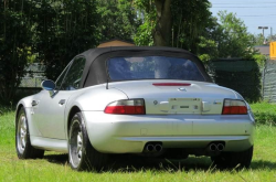 2002 BMW M Roadster in Titanium Silver Metallic over Black Nappa