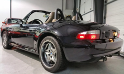 2002 BMW M Roadster in Black Sapphire Metallic over Dark Beige Oregon