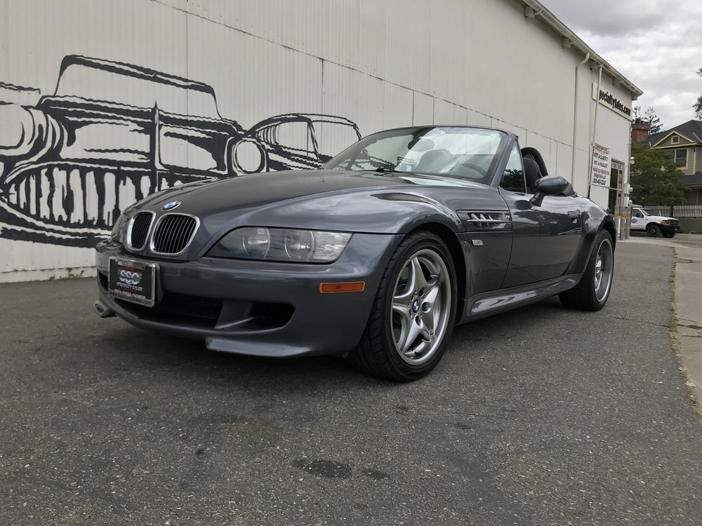 2002 BMW M Roadster in Steel Gray Metallic over Black Nappa