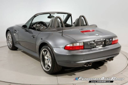 2002 BMW M Roadster in Steel Gray Metallic over Dark Gray & Black Nappa