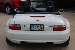 2002 BMW M Roadster in Alpine White 3 over Estoril Blue & Black Nappa