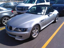 2000 BMW M Roadster in Titanium Silver Metallic over Black Nappa