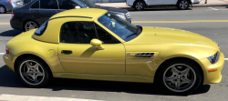 2001 BMW M Roadster in Phoenix Yellow Metallic over Black Nappa